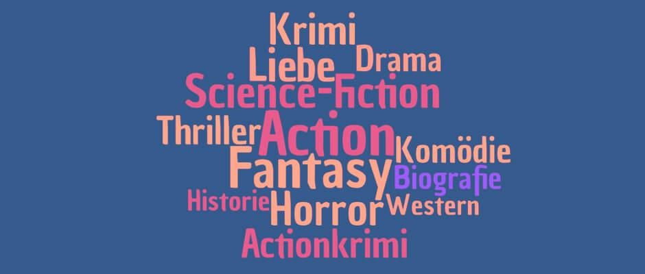 Filmgenres für Autoren