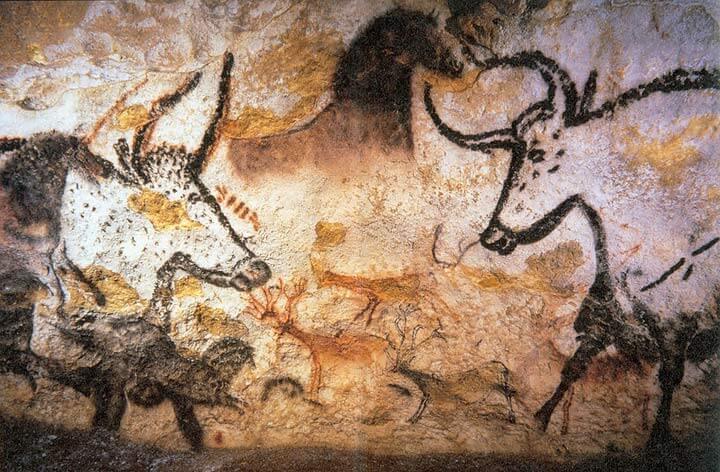 Höhle von Lascaux - Kreative Räume