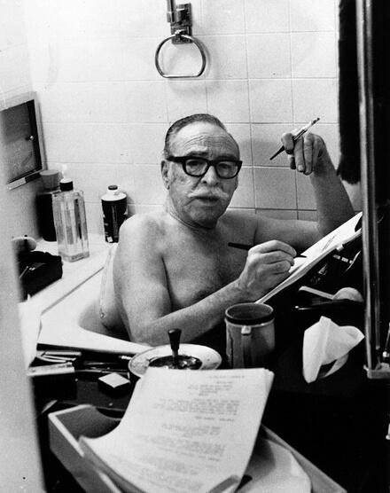 Wo schreiben Spaß macht: Badewanne